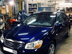 Предпродажная подготовка автомобиля KIA - полировка.