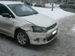Восстановление  а\м Volkswagen Polo после ДТП