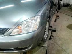 Восстановление  а\м Mitsubishi Lancer 9 после ДТП
