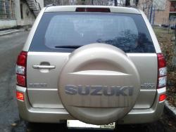 Восстановление  а\м  Suzuki Grand Vitara после ДТП