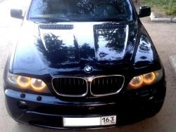 Восстановление BMW X5 после ДТП