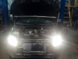 Восстановление  а\м  Datsun после ДТП