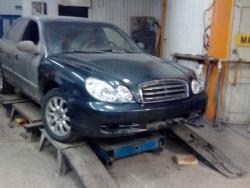 Восстановление  а\м Hyundai Sonata после ДТП