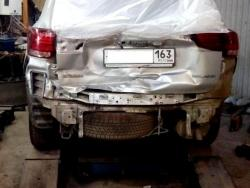 Восстановление  а\м Mitsubishi Outlander после ДТП