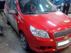 Восстановление  а\м Chevrolet Aveo т250 после ДТП