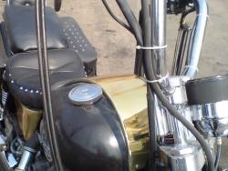 Хромирование частей мотоцикла и шлемов