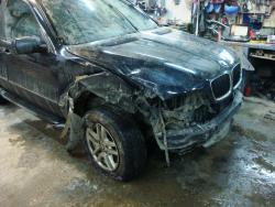 Снятие и установка ДВС BMW X5
