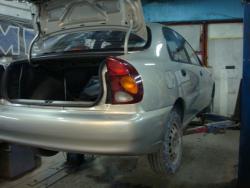 Восстановление после ДТП Chevrolet Lanos