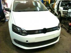 Восстановление  а\м Volkswagen Polo после ДТП (белый)