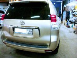 Восстановление  а\м Toyota Cruser после ДТП