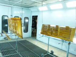 Обновление лакового покрытия на  межкомнатных дверях