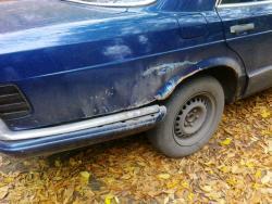 Реставрация Mersedes Benz W126S