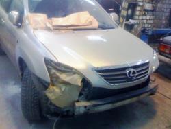 Восстановление  а\м Lexus RX300 HYBRID  после ДТП