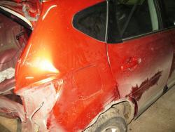 Восстановление  а\м Nissan Qashqai после ДТП